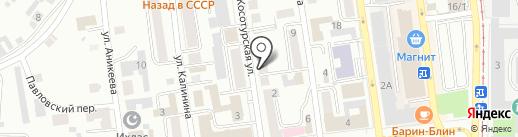 Айти Проект на карте Златоуста