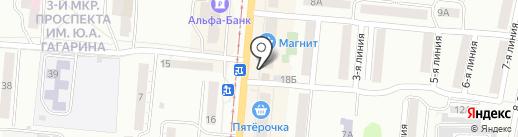 Система город на карте Златоуста