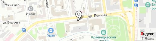 АРТ-Экспресс на карте Златоуста