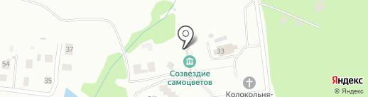 Веселухин ложок на карте Златоуста