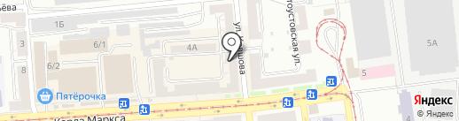 Стан на карте Златоуста