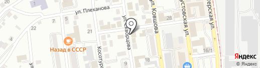 Авеню Риэлт на карте Златоуста