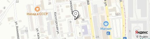 Автоюрист на карте Златоуста