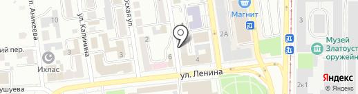 Банкомат, АК БАРС БАНК на карте Златоуста