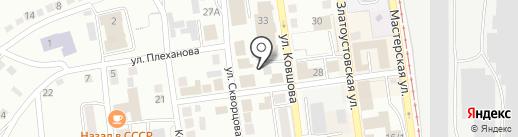 Гамбит на карте Златоуста