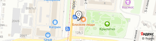 Суши Мастер на карте Златоуста