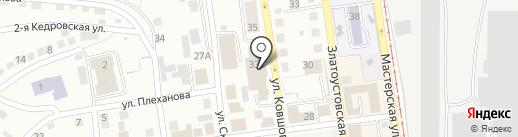 Златоустовский городской суд на карте Златоуста
