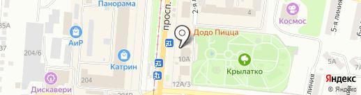 АРГУС на карте Златоуста