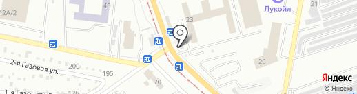 АвтоПартнер-74 на карте Златоуста