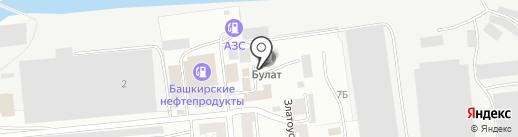 БУЛАТ на карте Златоуста
