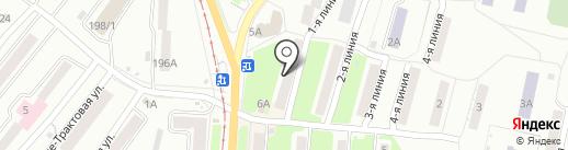Кондитерский магазин на проспекте Гагарина 1-я линия на карте Златоуста