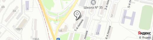 Гагаринское 1-5, ТСЖ на карте Златоуста