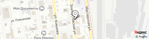 О.М.О.Н. на карте Златоуста