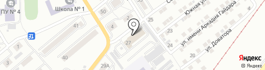 1 отряд ФПС по Челябинской области на карте Златоуста