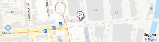 Уголовно-исполнительная инспекция на карте Златоуста