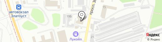 Кёрхер на час на карте Златоуста