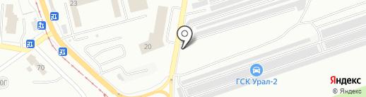 Плюснин А.О. на карте Златоуста
