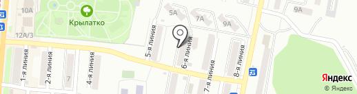 Автомобильный на карте Златоуста
