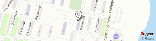 Златоустовский индустриальный колледж им. П.П. Аносова на карте Златоуста