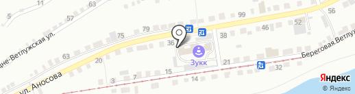 Автошкола на карте Златоуста