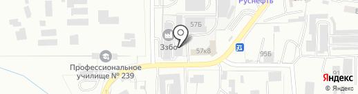 Златоустовский Завод Бетоносмесительного Оборудования на карте Златоуста