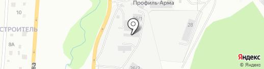 ЗлатТракторЗапчасть на карте Златоуста