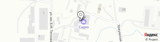 ЗЛАТО-ПРОГРЕСС на карте Златоуста