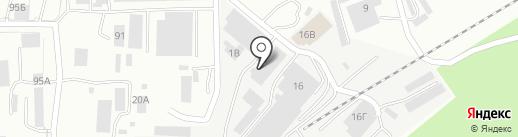Завод Монолит на карте Златоуста