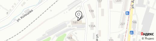 Опорный пункт пожарной части №8 на карте Златоуста