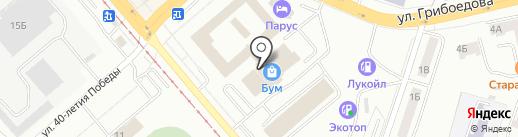 Центр технического обслуживания Кулибин на карте Златоуста