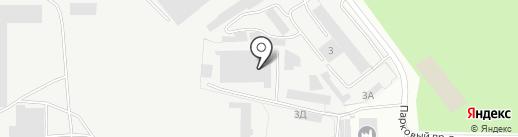 АСА на карте Златоуста