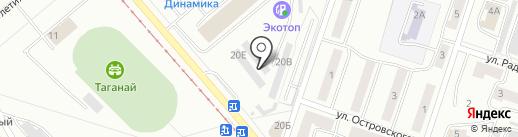 Магазин кондитерских изделий на карте Златоуста