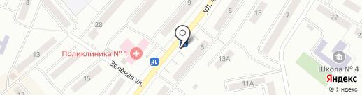 Уральская станица на карте Златоуста