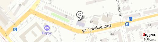 Библиотека №5 на карте Златоуста