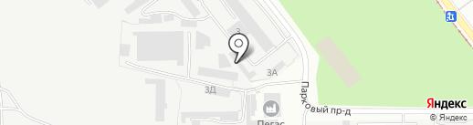 УК КГХ на карте Златоуста