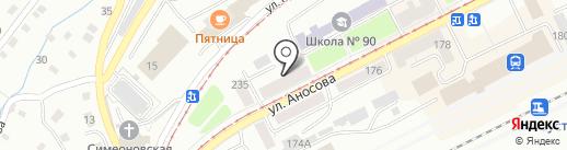 Южно-Уральский институт управления и экономики на карте Златоуста