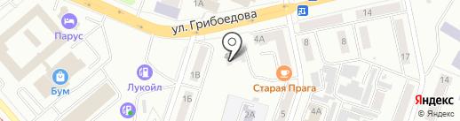 Детская музыкальная школа №2 на карте Златоуста