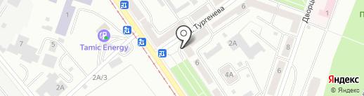 Почтовое отделение №9 на карте Златоуста