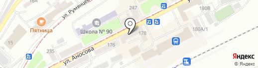 Универсальный на карте Златоуста
