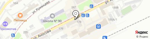 Магазин радиотоваров на карте Златоуста