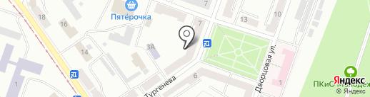 Орбита на карте Златоуста