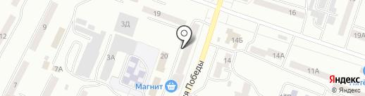 Гран на карте Златоуста