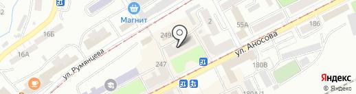 Детский сад №2 на карте Златоуста