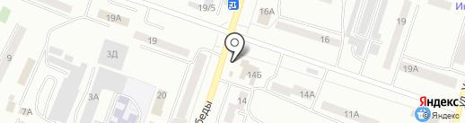 Магазин тканей на карте Златоуста
