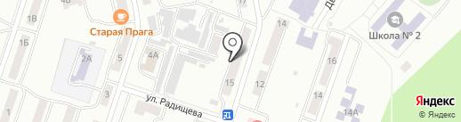 Фиалка на карте Златоуста