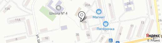 Евродом на карте Златоуста