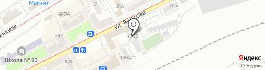 ТЭС-Челябинск на карте Златоуста