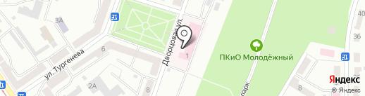 ЭИВЦ на карте Златоуста