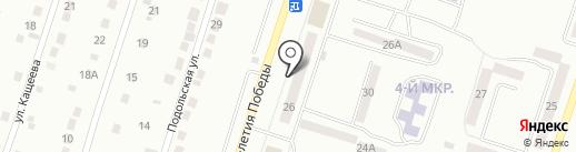 Автостекло на карте Златоуста