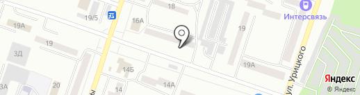 ЯзовХАН на карте Златоуста